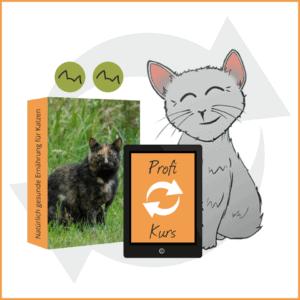 BARF Profi Kurs Icon mit Katze